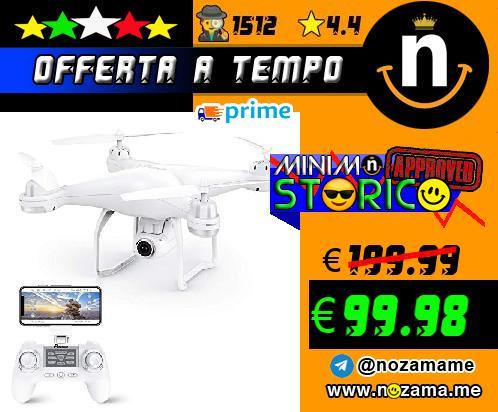 Potensic Drone GPS con Grandangolare