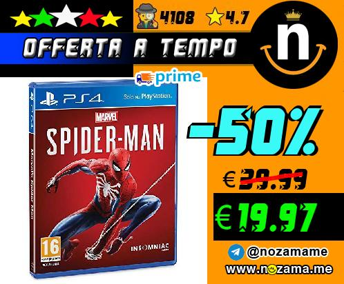 PS4 - Marvel Spiderman