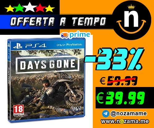 PS4 - Days Gone Steelbox