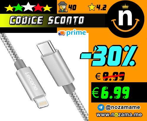 Lecone Cavo USB Lightning