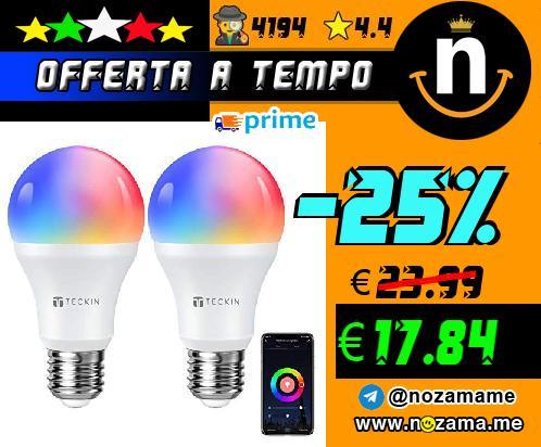 2x Lampadina LED Smart