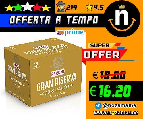 Birra Peroni Gran Riserva 12x50cl