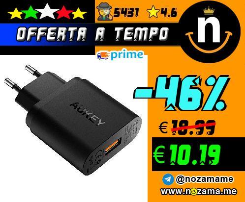 Aukey Caricatore USB 19.5W