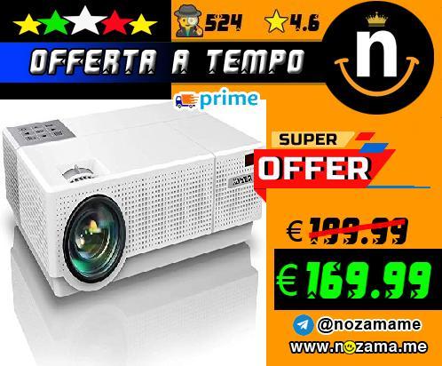 Yaber Videoproiettore Domestico