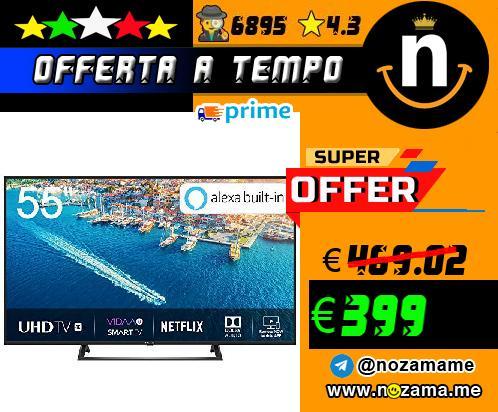Hisense TV LED 4K 55`