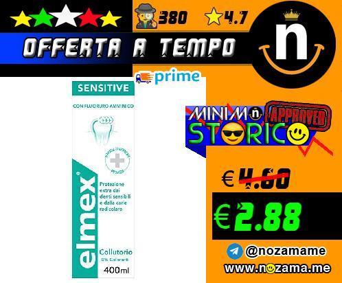Elmex Sensitive Plus Collutorio 400ml
