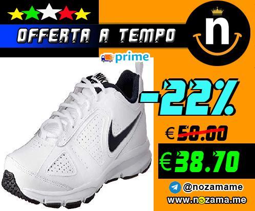 Nike T-Lite XI  Scarpe da Ginnastica Uomo  Bianco  White Obsidian Black Metallic Silver 101   44 5 EU  9 5 UK