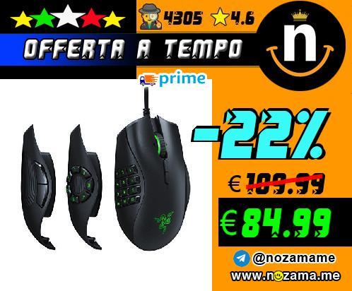 Razer Naga Trinity Mouse Gaming